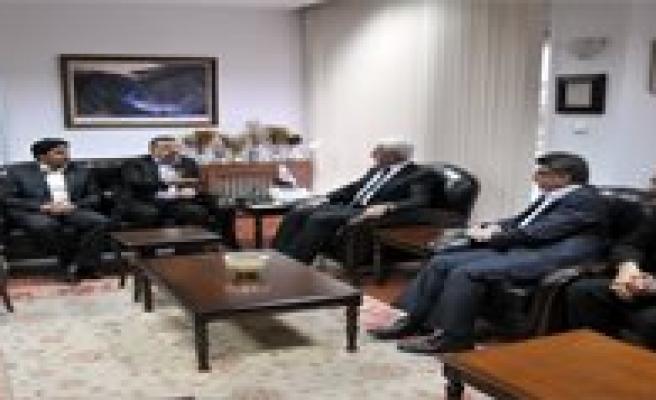 Memur - Sen Genel Baskani Ahmet Gündogdu'dan Nezaket Ziyareti