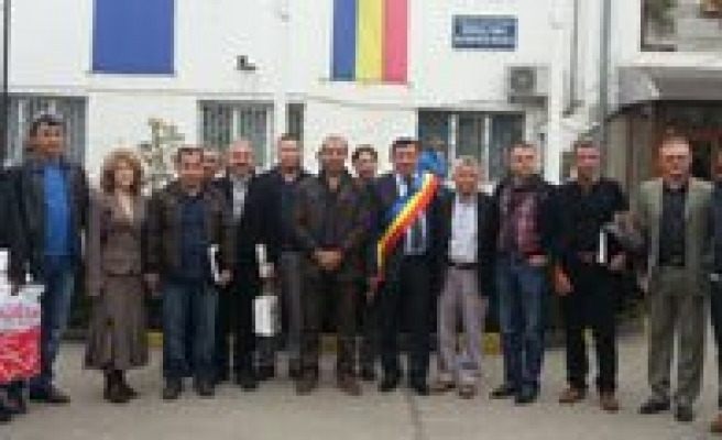 Proje Heyeti Romanya'dan Döndü