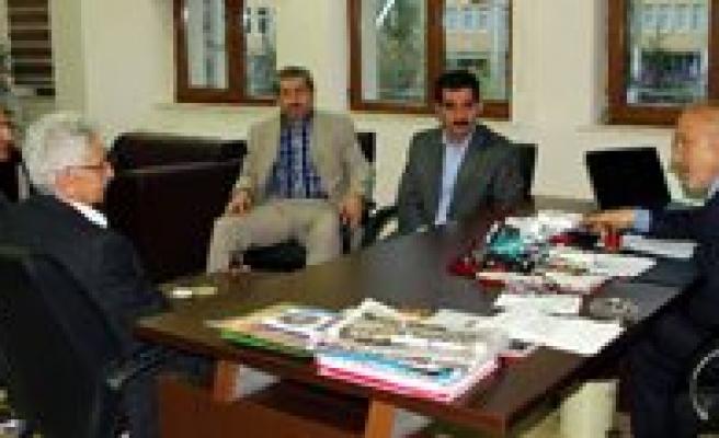 Özel Mümine Hatun Hastanesi Yönetiminden Bayir'a Ziyaret