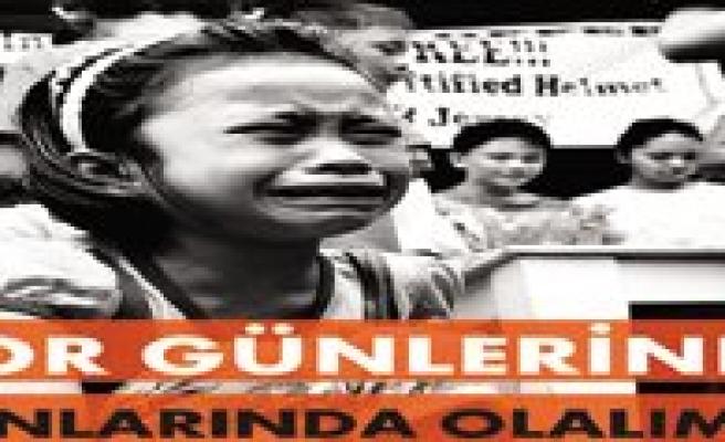 Haydi Karaman Filipinler`e Destek Için El Ele