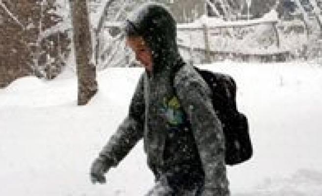 Okullara Bir Günlük Kar Tatili