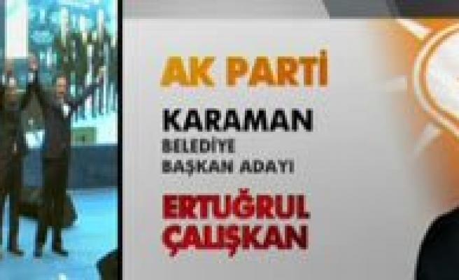Ak Parti'nin Belediye Baskan Adayi Ertugrul Çaliskan Oldu