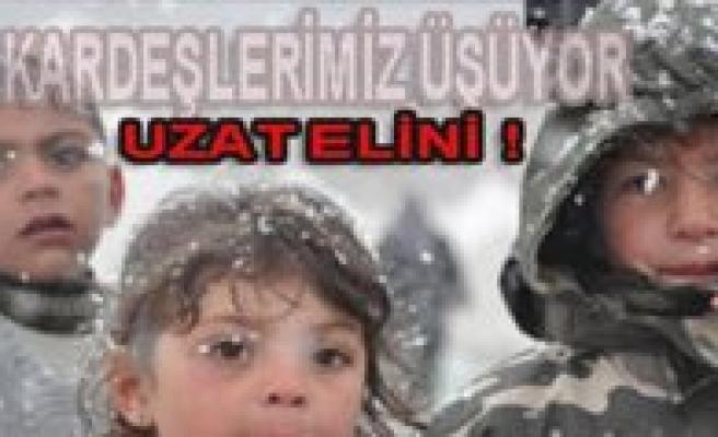 """CHP Gençlik Kollari'ndan """"Van'da Kardesin Üsüyor Sende El Uzat"""" Kampanyasi"""