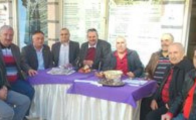 Oda Baskanlarindan Antalya Dernegine Ziyaret