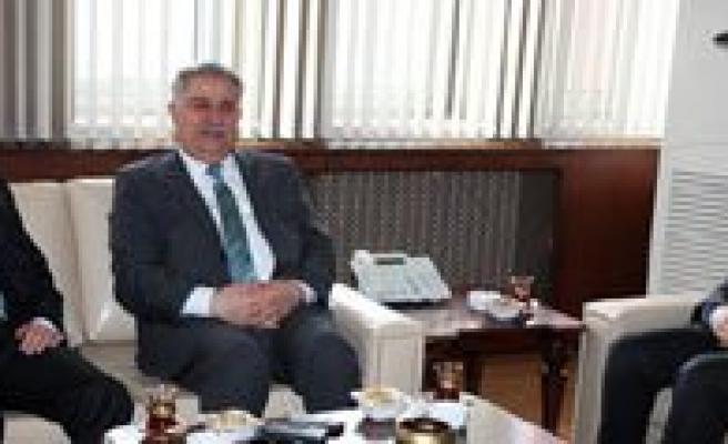 Konya Rektörlerinden KMÜ'ye Ziyaret