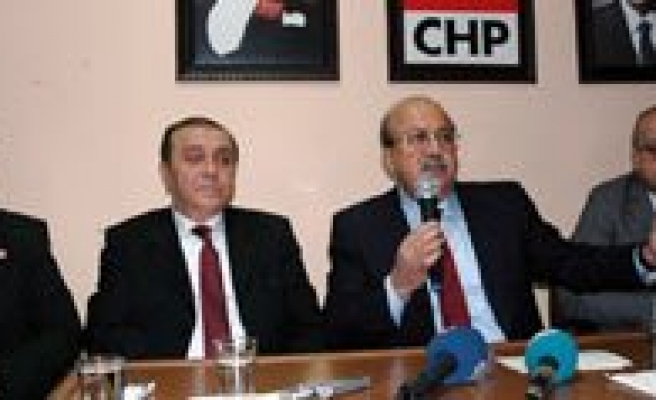 "CHP Genel Baskan Yardimcisi Nihat Matkap: ""CHP Bu Depremi En Az Hasarla Atlatmanin Pesindedir"""
