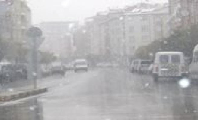 Meteoroloji: Yagmur, Karla Karisik Yagmur Ve Kar Yagisi Bekleniyor
