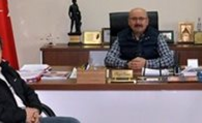 Emniyet Müdürü Sönmez'den Samur'a Veda Ziyareti
