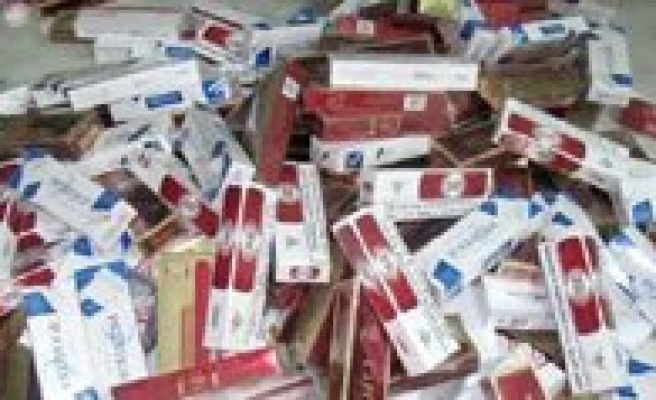 3 Bin 50 Paket Kaçak Sigara Yakalandi
