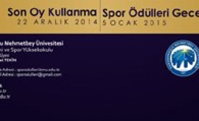 KMÜ 2014 Yilinin En Basarili Sporcularini Seçiyor