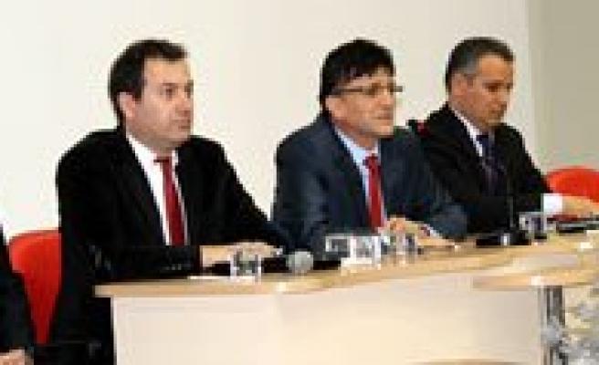 Karaman'in Yeni Genel Sekreteri Ve Ekibi Ilimizdeki Görevine Basladi