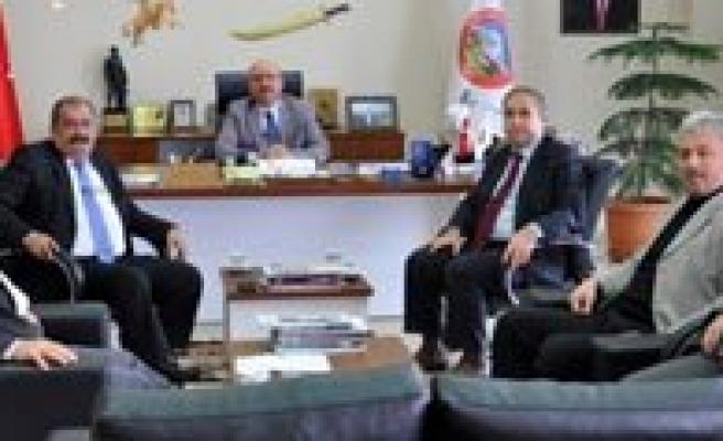 Taseli Belediyeleri Istisare Toplantisi Yapti