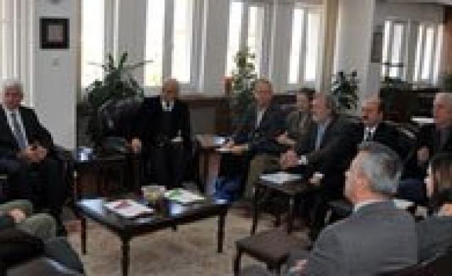 Vali Murat Koca IFAD Ve UNDP Heyetini Kabul Etti