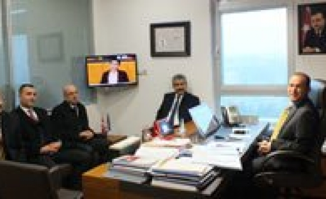 MHP Il Teskilatindan Akgün'e Ziyaret