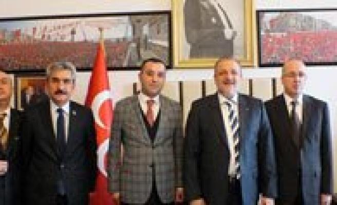 MHP Teskilati Grup Toplantisina Katildi