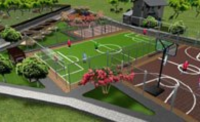 Mahallelere Semt Spor Sahalari Yapiliyor