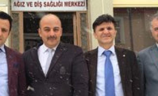 Genel Sekreter Erenoglu, Saglik Kurumlarini Inceledi