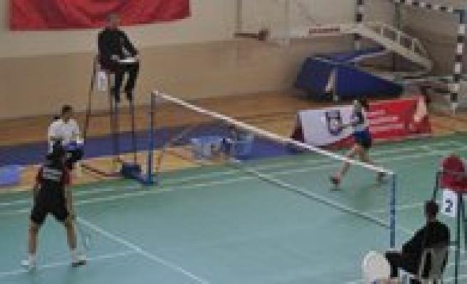 19 Yas Balkan Badminton Sampiyonasi Basladi