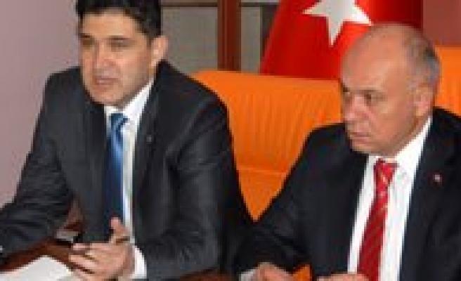 """Çaliskan:  """"Hepimiz Bakanimiz Lütfi Elvan'in Karaman'dan Aday Gösterilmesini Istiyor"""""""