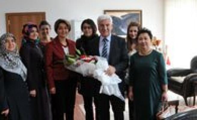 Kent Konseyi Kadin Meclisinden Vali Koca'ya Ziyaret
