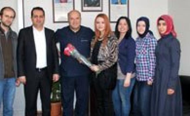 Karaman Gençlik Merkezi Saglik Çalisanlarini Unutmadi