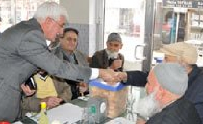 Karaman'da Yaslilar Haftasi Kutlandi
