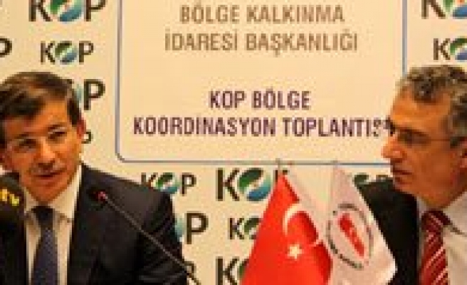 Basbakan Davutoglu'ndan KOP Müjdesi