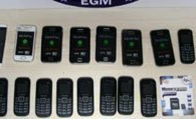 Karaman'da 87 Kaçak Cep Telefonu Ele Geçirildi