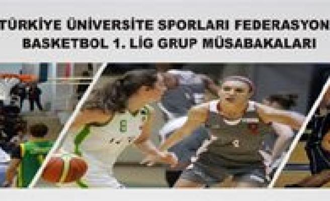 Üniversiteler Arasi Basketbol Müsabakalari KMÜ'de
