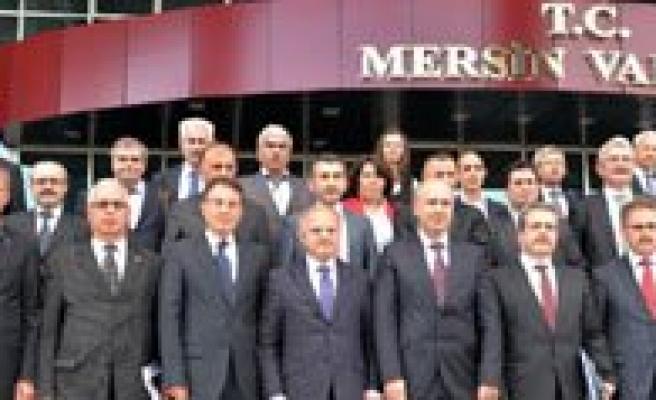 Keskin, Dogu Akdeniz Havzasi Yönetim Heyeti Toplantisina Katildi
