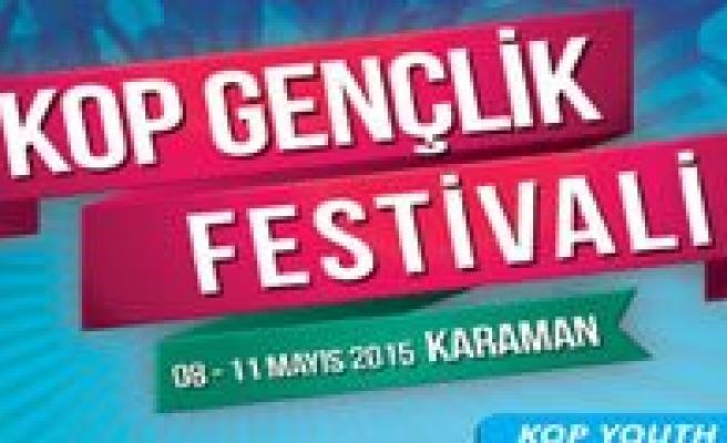 Karaman, KOP Gençlik Festivaline Hazirlaniyor