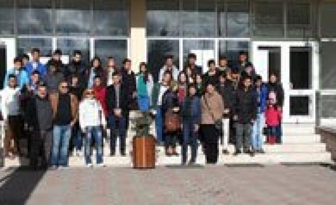 Hatuniye Mesleki Ve Teknik Anadolu Lisesi Ögrencileri Eskisehirde