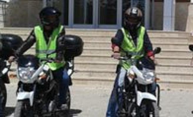 Sariveliler Belediyesi Araç Filosuna Dört Adet Motosiklet Ekledi