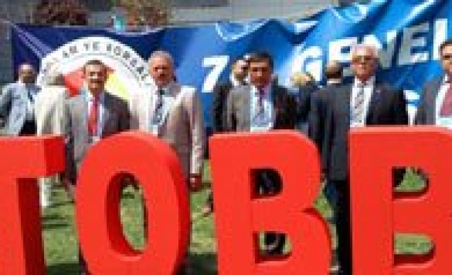 Karaman Ticaret Borsasi TOBB 71. Genel Kuruluna Katildi