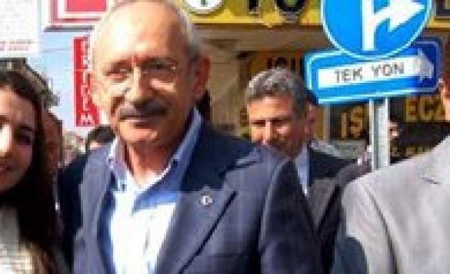 Kiliçdaroglu, 13 Mayis'ta Karaman'da