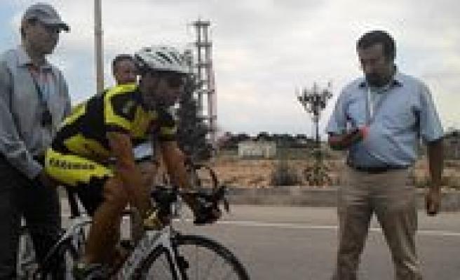 """Karaman'da """"Yol Bisikleti Türkiye Sampiyonasi"""" Heyecani Basladi"""