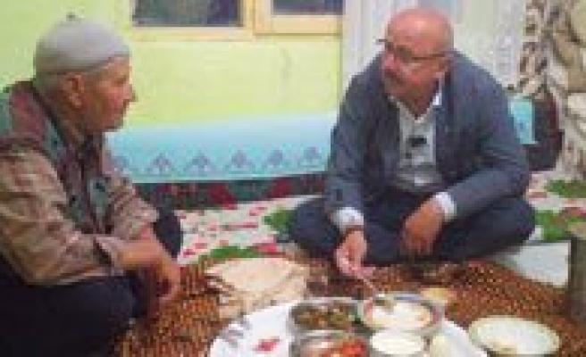 Baskan Samur, Iftarini Halkla Birlikte Açiyor