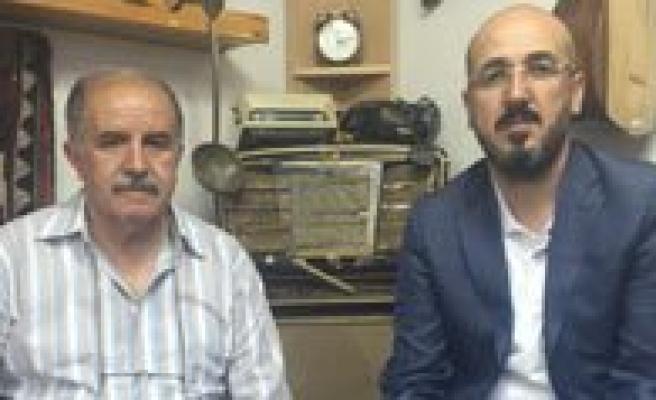 MHP Il Baskani Yilmaz'dan Kgrt'ye Tesekkür Ziyareti