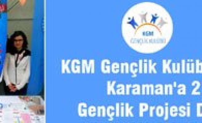 KGM Gençlik Kulübü'nden Karaman'a 2 Gençlik Projesi Daha