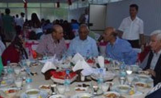 Emniyet Müdürü Sahne'den Emekli Ve Çalisan Personele Iftar Yemegi