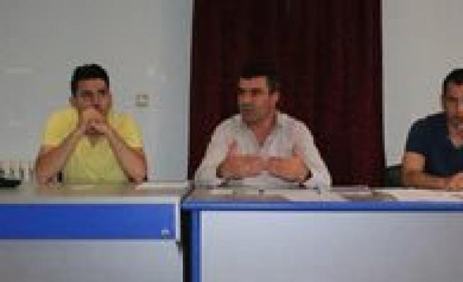 Karaman GHSIM'de Temmuz Ayi Antrenör Toplantisi Yapildi
