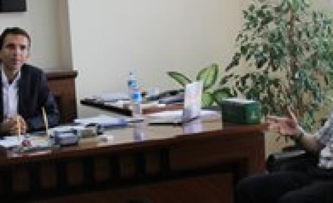 Genel Sekreter Erenoglu Ermenek'de