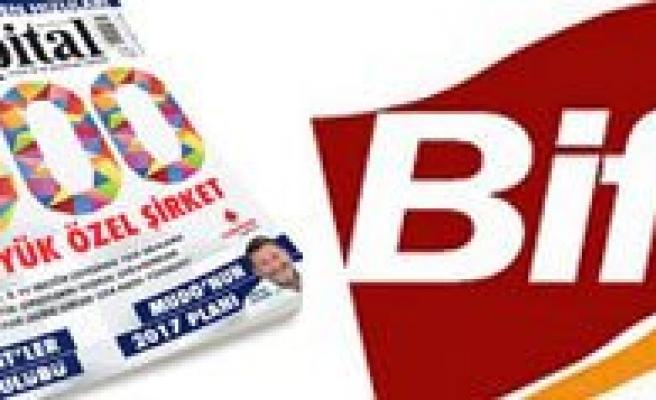 Bifa Bisküvi Capital 500 Listesinde