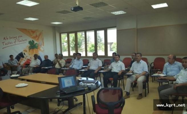 2016 Yılı 2. Dönem Değerlendirme Toplantısı Kâzımkarabekir'de Yapıldı