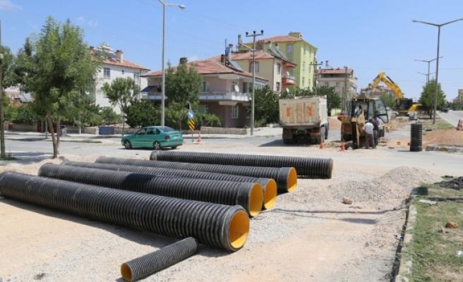 Alparslan Türkeş Bulvarı'nda Çalışmalar Devam Ediyor