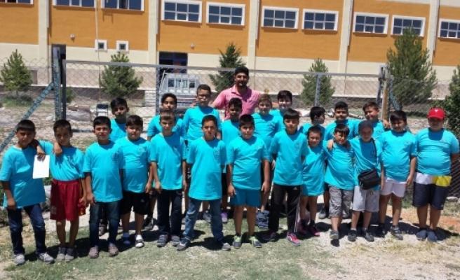 Sudurağı Beldesinde Yaz Spor Okulları Cıvıl Cıvıl