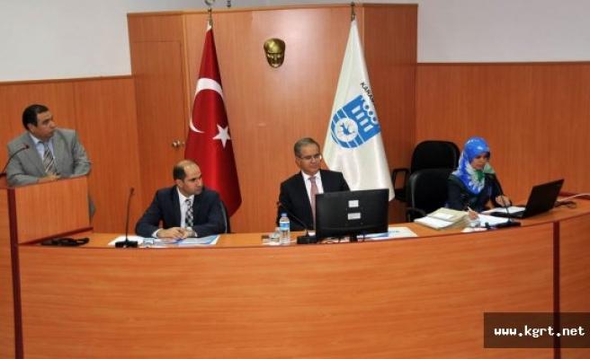 Vali Tapsız İl Koordinasyon Kurulu Toplantısına Katıldı