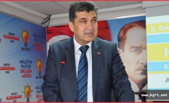 AK Parti İl Başkanı Ünlü, Terör Saldırılarını Kınadı
