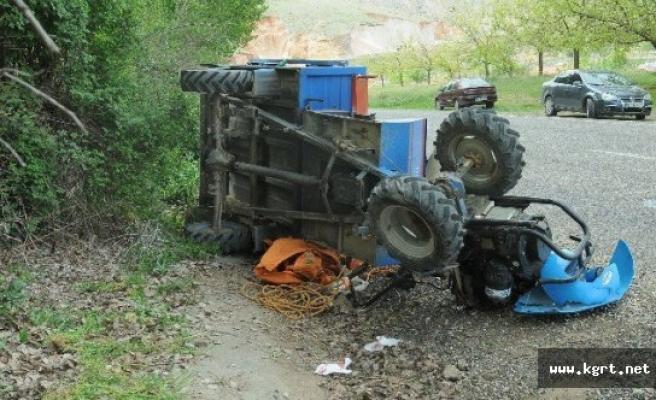 Çapa Motoru Devrildi. 1 Kişi Öldü.1 Kişi Yaralandı