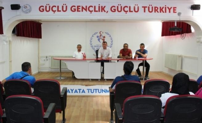 Karaman GHSİM'de Eylül Ayı Antrenör Toplantısı Yapıldı